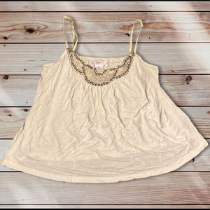 🎉3for$15🎉 Candie's Bedazzled Spaghetti strap top
